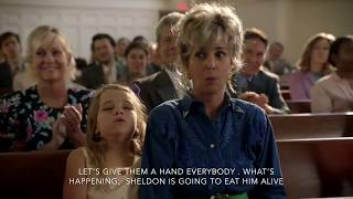 young sheldon first day at church (English subtitles)