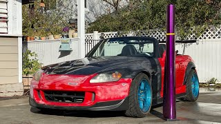 BUSTED HONDA S2000 REVIVED | Making Purple Rain...Need For Speed Vision Comes True!