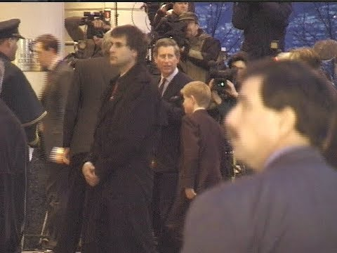Prince Charles & Prince William visiting Vancouver Canada 23/03/1998