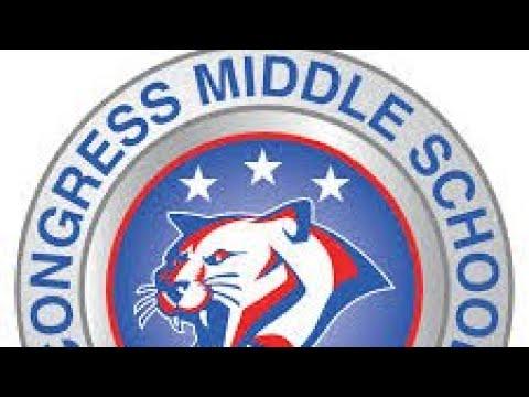 Teacher from congress middle school