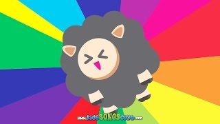 Baa Baa Black Sheep |  Kids Songs with Action And Lyrics | KidsSongsClub Nursery Rhyme