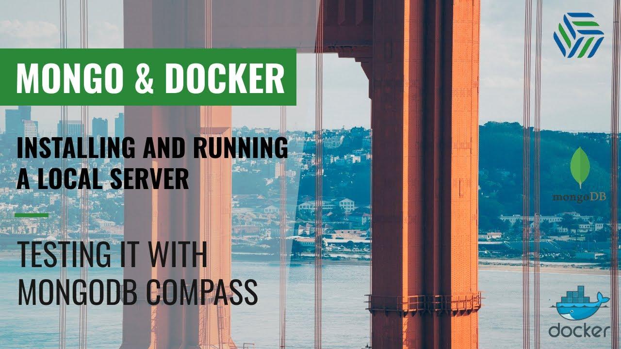 Running MongoDB with Docker 101