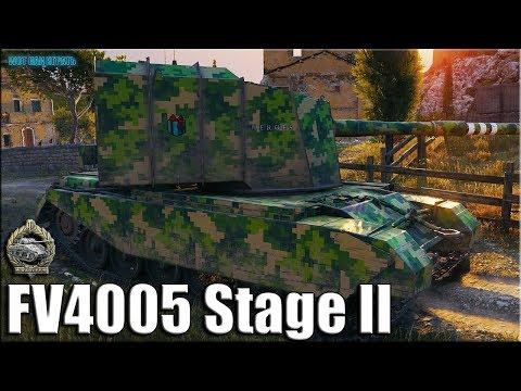 БАБАХА на Рудниках раздаёт ВАНШОТЫ ✅ World of Tanks FV4005 Stage II лучший бой