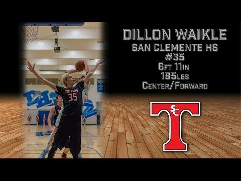 Dillon Waikle Basketball Highlight | San Clemente High School | Class of 2016