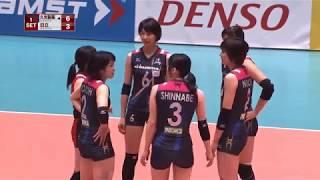 (06/01/2018) HISAMITSU SPRINGS vs. HITACHI RIVALE SET 1+2 (V.PREMIUM LEAGUE 2017-2018)