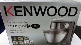 KENWOOD KM288 KITCHEN-ASSISTANT UNBOXING 5/9-2016!
