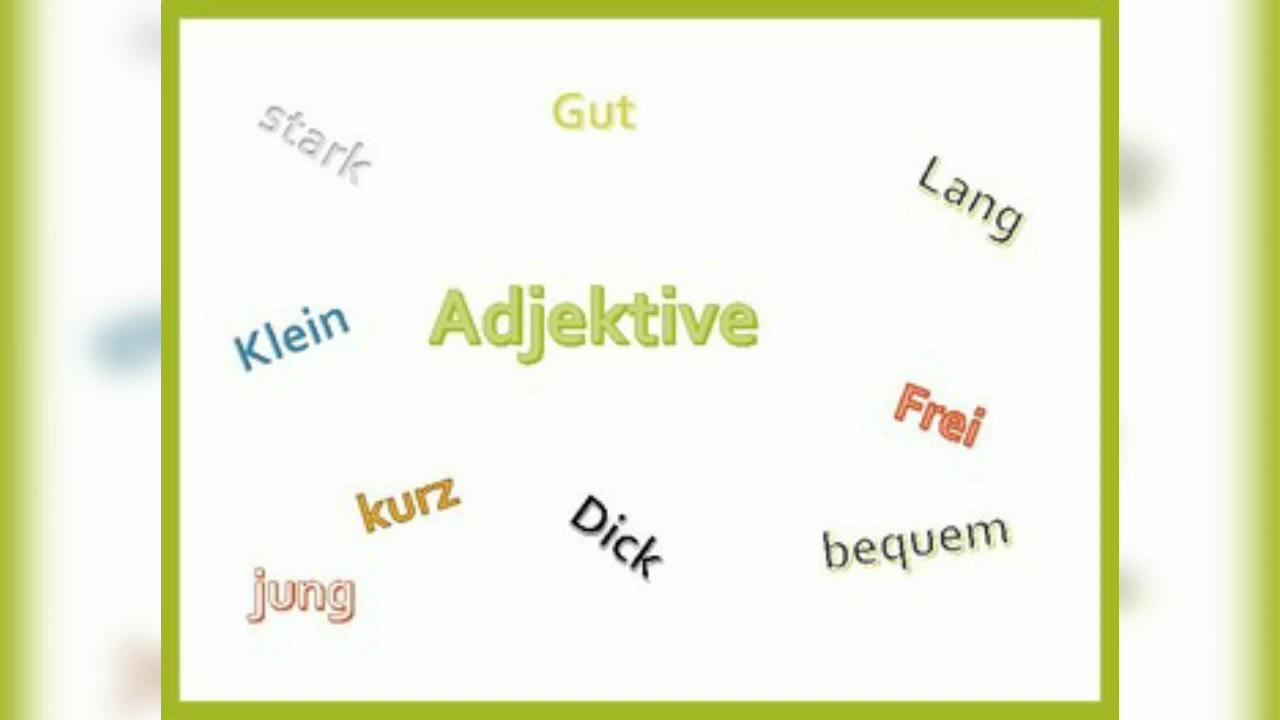 gegenteile adjektive