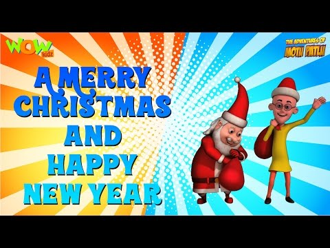 Merry Christmas And A Happy New Year! - Motu Patlu