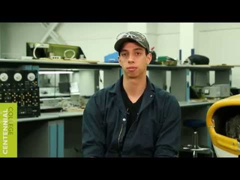 Centennial College: Aircraft Technician- Avionics Maintenance Program video