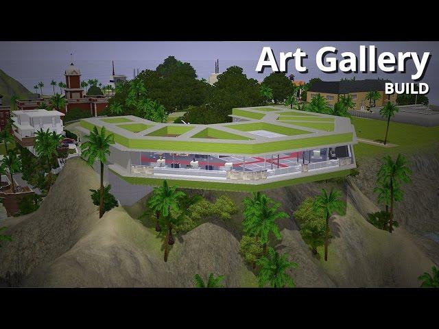 The Sims 3 Building - Aluna Headlands Art Gallery - Aluna Island