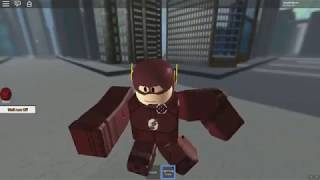 ROBLOX: THE OLD MAN TURNED THE FLASH IN THE CITY!
