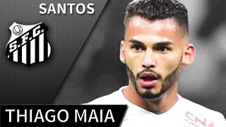 Thiago Maia • 2017 • Santos • Best Skills, Passes & Tackels • HD 720p