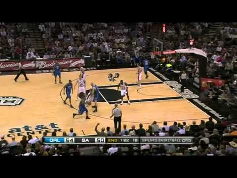 Manu Ginobili: Leading the Spurs over Dwight Howard and the Magic (43 points, 2010)