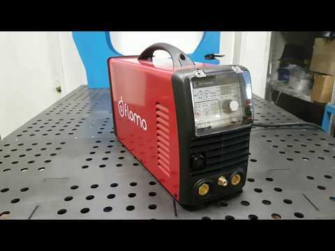Flama TIG 200E сварка теплообменника