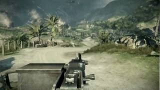 Battlefield 2 Bad Company Single player video 1900X1200 xp sp3 gtx285 E8600 max detail