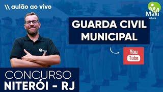Guarda Municipal de Niterói - RJ I Conhecimentos do Município