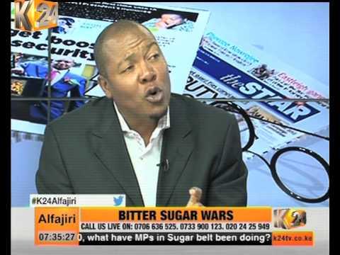 K24 Alfajiri : NewsPaper Review Discussion On The Uganda Sugar Deal Debate.