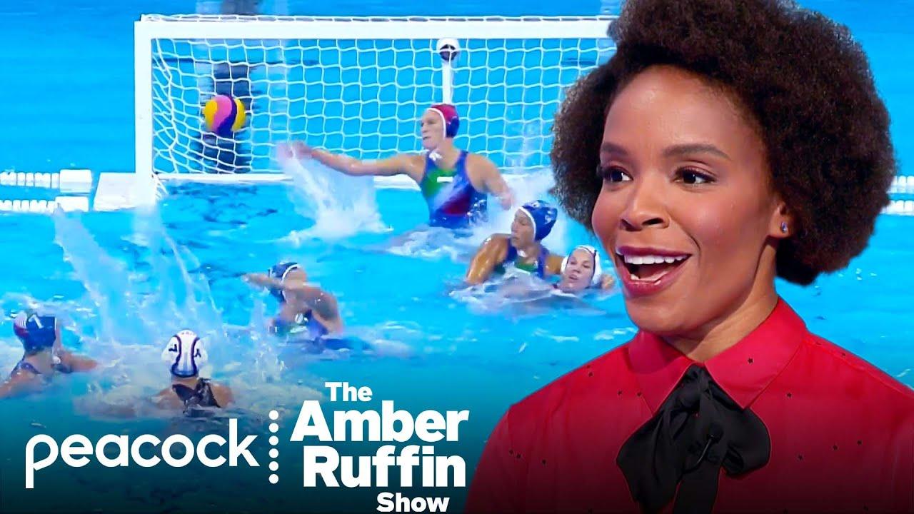 Break Down of Water Polo's Many Fouls   #AmberinTokyo