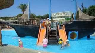 Miraluna village resort & spa Греция Родос(Это был очень веселый и интересный отдых в Греции на о. Родос. В отеле Владику больше всего понравился аквап..., 2016-02-13T12:21:31.000Z)