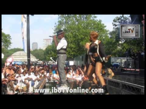 Ne-Yo - Let Me Love You LIVE Good Morning America Summer Concert Series Central Park NYC iboTV