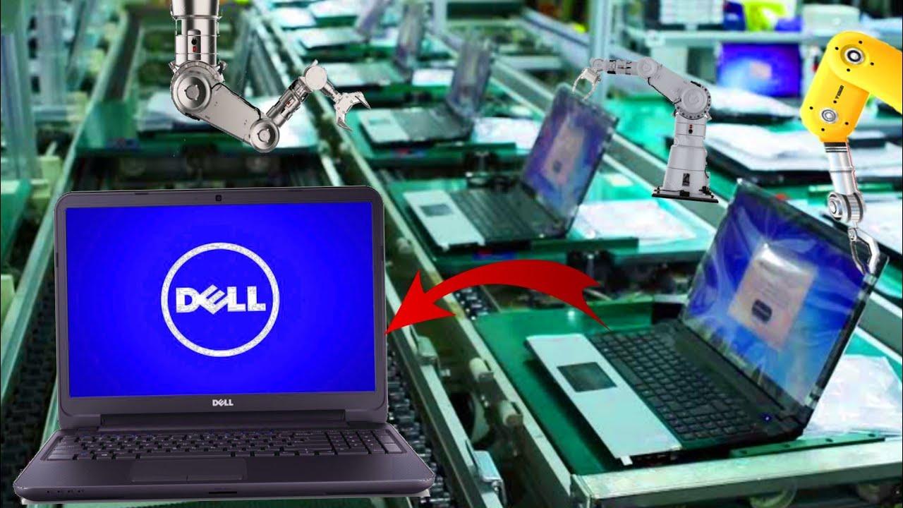 देखिए फैक्टरी मे ये मशीन कैसे मिनटो मे हज़ारो लैपटॉप बनाती है    How Laptops Are Made in Factory