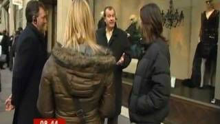Colin Shaw ( Customer Experience Consultant ) being interviewed on TV News Thumbnail