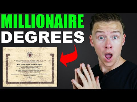 Degrees that produce the most millionaires