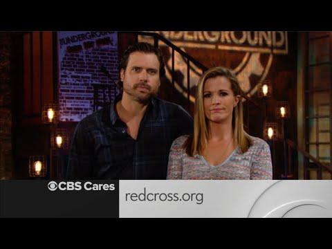 CBS Cares  Joshua Morrow and Melissa Claire Egan on Hurricane Harvey Recovery