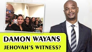 Damon Wayans is one of the Jehovah's Witnesses!?! (MIchael Kyle the famous from My Wife and Kids)