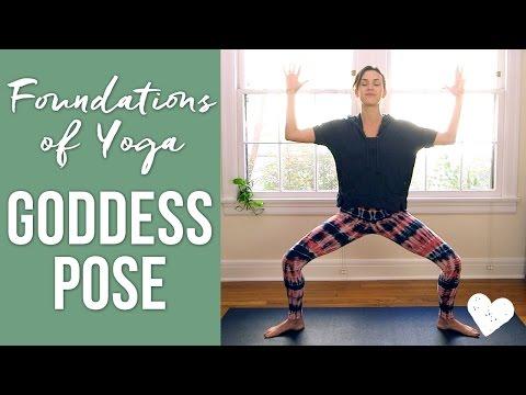 Goddess Pose - Foundations of Yoga