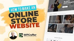 How To Make An Online eCommerce Store Website With WordPress (NEW 2019)