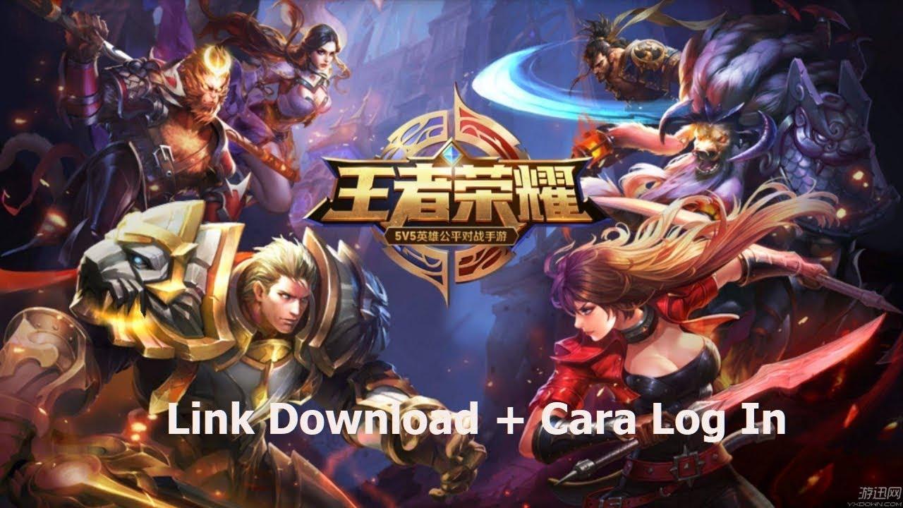 Cara Main Game Kings of Glory Sesepuh Arena of Valor (Link Download & Cara  Log In)