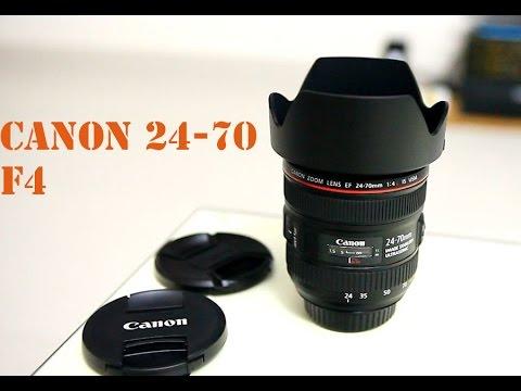 ✅ Trên tay và đánh giá chi tiết Canon 24-70 f4 L (for fullframe & crop)