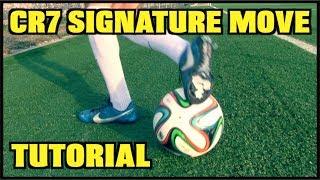 How to Do the Cristiano Ronaldo CR7 Signature Skill Trick