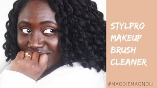 StylPro Brush Cleaner Review - Does this really work?! - Maggie Magnoli