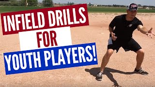 3 baseball infield drills for youth players fun