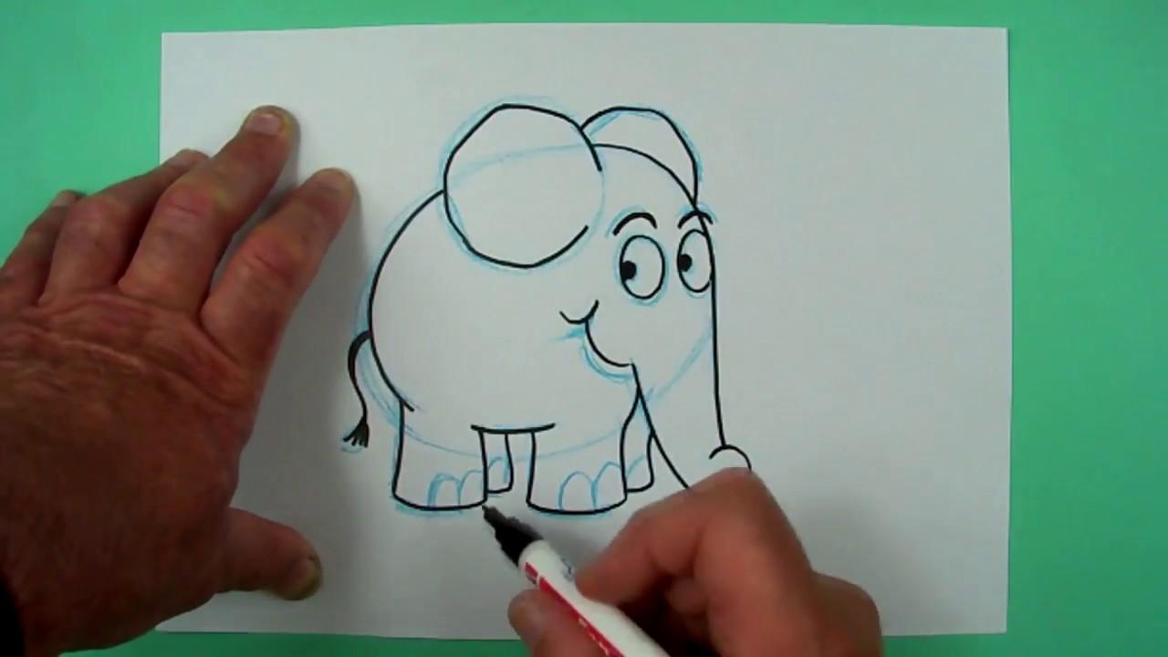 Die Sendung Mit Der Maus Elefant Zeichnen Für Kinder Und Jedem Dem Es Spaß Macht