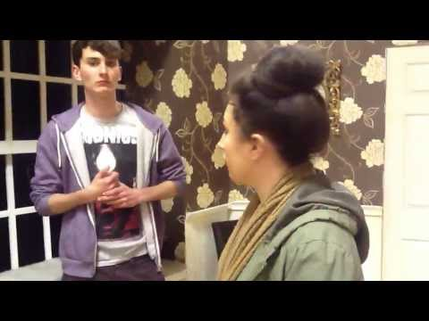 Cash on Delivery - Harry and Scarlett Discuss Set
