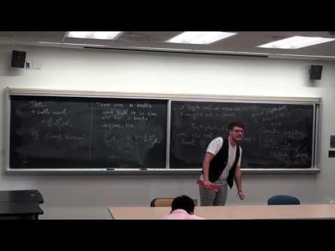 GSS Fall 2016 - Christopher Cox: The Mathematics of Juggling