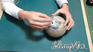 Основы папье маше для начинающих. Подготовка поверхности и окрашивание, техника маширования