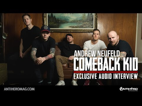Interview with Andrew Neufeld of Comeback Kid