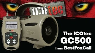 Introduction to the ICOtec GC500 Remote Fox Caller from Best Fox Call