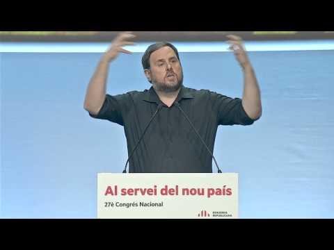 Discurs Oriol Junqueras al 27è Congrés Nacional d'ERC