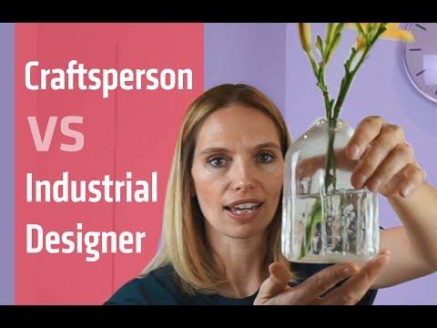Industrial design jobs : Industrial designer vs Craftsman