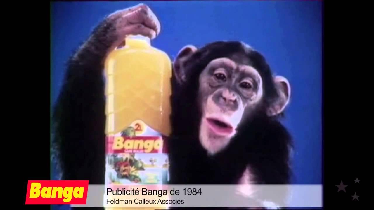 Pub culte banga 1984 hd youtube for Dans banga paroles