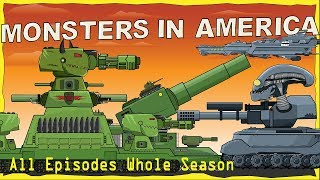 'All episodes Monsters in America first season' Cartoons about tanks
