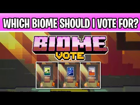 Minecraft 1.15 Which Biome Should I Vote For? Swamp, Badlands or Mountains!