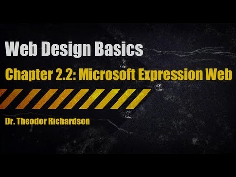 Web Design Basics: Microsoft Expression Web