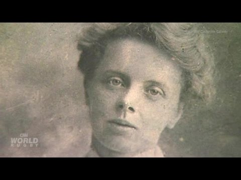 Emily Valentine: 'The first lady of rugby'