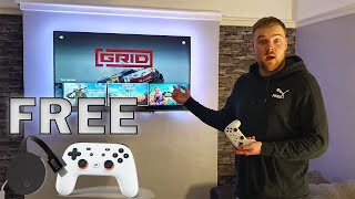 Free Google Stadia! Is cloud gaming now good? First impressions & Setup!
